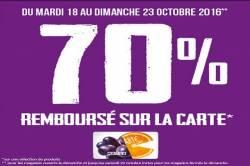 Supermarché Match Le sart : 70% REMBOURSE*